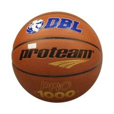 Toko Proteam Bola Basket Pro1000 Dbl Size 7 Cokelat Termurah