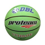 Jual Proteam Bola Basket Rubber Ultimate Hijau Proteam Grosir