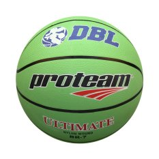Jual Proteam Bola Basket Rubber Ultimate Hijau Proteam Branded