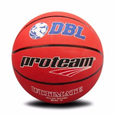Jual Proteam Bola Basket Rubber Ultimate Red Satu Set