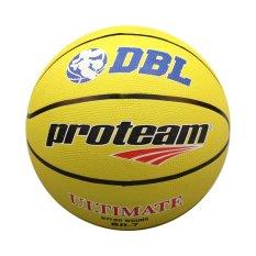 Beli Proteam Bola Basket Rubber Ultimate Yellow Cicilan