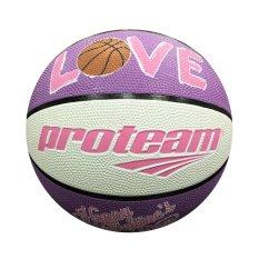 Harga Proteam Bola Basket Rubber Valentine Purple Satu Set