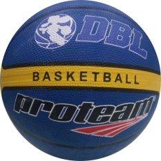 Harga Proteam Rubber Bola Basket Sa 7 Biru Satu Set