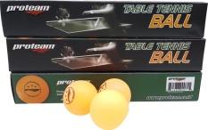 Proteam Bola Pingpong & Tenis Meja - Isi 6 - Kuning