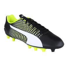 Puma Adreno Iii Fg Men S Football Shoes Puma Black Puma White Safety Yellow Indonesia Diskon 50