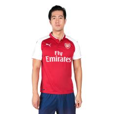 Jual Puma Arsenal Fc Home Replica Shirt Jersey Sepakbola Pria Chili Pepper Puma White Murah Indonesia