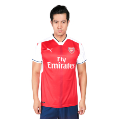 Jual Puma Arsenal Fc Home Replica Shirt Jersey Sepakbola Pria High Risk Red White Puma Original