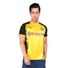 Jual Puma Borussia Dortmund Int L Replica Shirt Jersey Sepakbola Pria Cyber Yellow Black Online