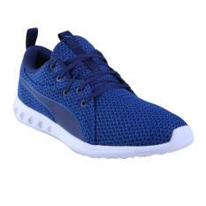 Spesifikasi Puma Carson 2 Knit Sepatu Lari Pria Lapis Blue Blue Depths Baru