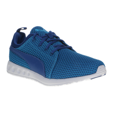 Beli Puma Carson Knitted Men S Running Shoes Blue Danube True Blue Indonesia