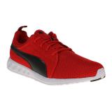 Jual Puma Carson Mesh Men S Running Shoes High Risk Red Puma Black Indonesia