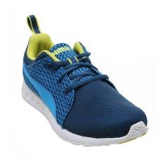 Harga Puma Carson Runner Knit Sepatu Lari Pria Biru