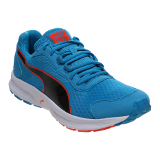Jual Puma Descendant V3 Running Shoes Atomic Blue Black Red Blast Import