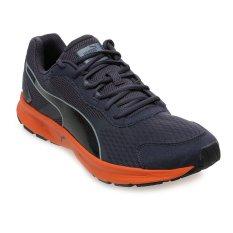 Beli Puma Descendant V3 Sepatu Lari Pria Hitam Oranye Lengkap