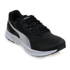 Jual Puma Descendant V3 Sepatu Lari Pria Hitam Putih Import