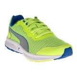 Toko Puma Descendant V4 Men S Running Shoes Safety Yellow Quarry Electric Blue Lemonade Puma Di Indonesia