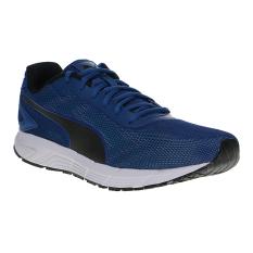 Jual Beli Online Puma Engine Men S Running Shoes True Blue Puma Black