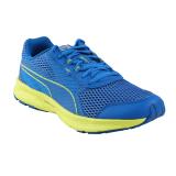 Puma Essential Runner Sepatu Lari Pria Mykonos Blue Nrgy Yello Terbaru
