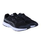 Puma Essential Runner Sepatu Lari Pria Puma Black Puma Silver Puma Diskon 40