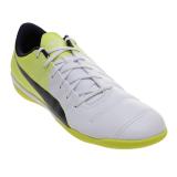 Toko Puma Evopower 4 3 Tricks It Football Shoes Puma White Peacoat Safety Yellow Yang Bisa Kredit