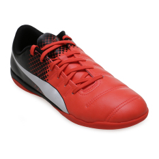 Obral Puma Evopower 4 3 Tricks It Football Shoes Red Blast Puma White Puma Black Murah
