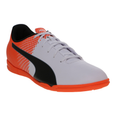 Puma Evospeed 5 5 It Men S Football Shoes Puma White Puma Black Shocking Orange Indonesia Diskon