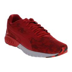 Toko Puma Ignite Dual Camo Men S Running Shoes High Risk Red Termurah Di Indonesia