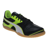 Puma Invicto Sala Futsal Shoes Puma Black Puma White Safety Yellow Diskon Indonesia