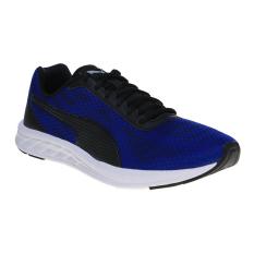 Diskon Puma Meteor Men S Running Shoes True Blue Puma Black Branded