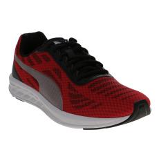 Jual Cepat Puma Meteor Running Shoes High Risk Red Puma Silver Puma Black