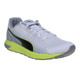Diskon Puma Sequence V2 Men S Running Shoes Puma White Puma Black Safety Yellow
