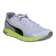 Spesifikasi Puma Sequence V2 Men S Running Shoes Puma White Puma Black Safety Yellow Puma