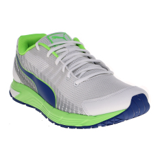 Jual Puma Sequence V2 Men S Running Shoes White Blue Green Import