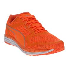Diskon Produk Puma Speed 500 Ignite Nightcat Running Shoes Shocking Orange Puma Silver Shocking Orange