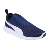 Beli Puma St Trainer Evo V2 Slip On Sepatu Lari Pria Blue Depths Pu Dengan Kartu Kredit
