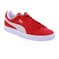 Puma Suede Classic+ Sepatu Sneakers Olahraga - Team Regal Red-White