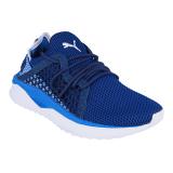 Spek Puma Tsugi Netfit Running Shoes Lapis Blue Puma White Indonesia