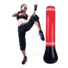Harga Punching Bag Stand Power Tower Inflatable Punching Bags Speedboxing Latihan Merah Intl Oem Terbaik