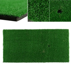 Toko Quality Backyard Golf Mat 12 X24 Hitting Pad Practice Rubber Tee Holder Grass Indoor Intl Termurah Tiongkok