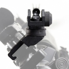 Quality Hunting Front & Rear 45 Degree Offset Rapid Transition Backup Iron Sight Set - intl