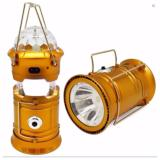 Quincy Magic Ball Lampu Senter Emergency Kemping Lentera Led Solar Rechargeable Gold Dki Jakarta Diskon