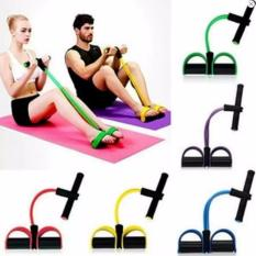 Review Toko Quincy Sports Yoga Resistance Band Tube Stretch Body Fitness Muscle Workout Exercise 8 Type Pull Reducer Online