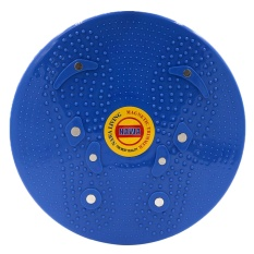 QuincyHome Jogging Magnetic Trimmer Body Plate-Blue