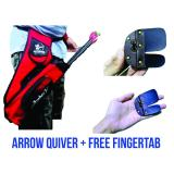 Spesifikasi Quiver Pinggang Tas Anak Panah Ringan Nyaman Dipakai Bonus Fingertab Murah Berkualitas