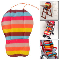 Rainbow Color Soft Thick Pram Cushion Chair BB Car
