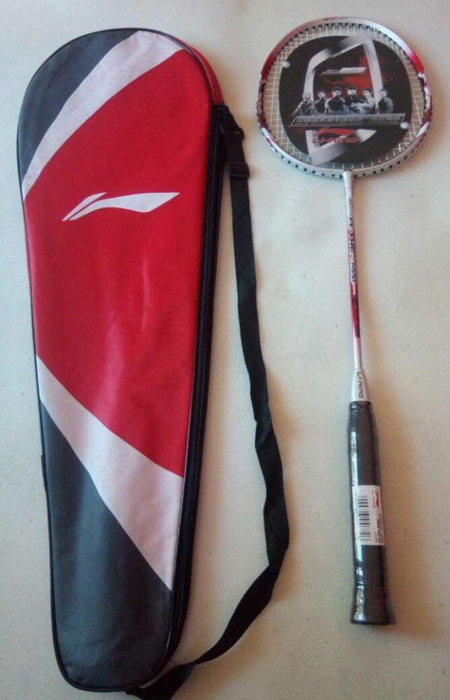 ... Raket badminton lining import free tas lining