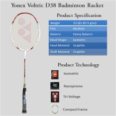 Raket Badminton Yonex Voltric D 38 Original Taiwan
