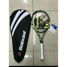 Raket tenis babolat aero pure drive yellow bonus tas dan grip