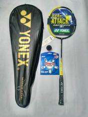 Raket Yonex Astrox 77 Kuning Import Terbaru FREE tas, senar, grip