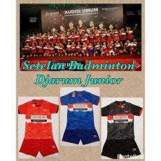 READY  Kaos Baju Bulutangkis Badminton Li-Ning Djarum Junior Anak Setelan  MURAH